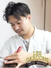 レギャルソン与野本町店店長石田 哲朗